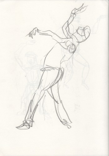 Gestural Study of a Belly Dancer